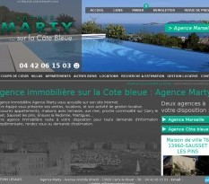 Agence immobilière Marty