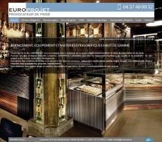 Europrojet, matériel frigorifique à Lyon