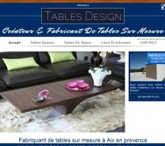 creation table sur mesure marseille