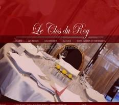Le Clos du Roy, restaurant gastronomique
