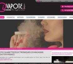 E-liquide et cigarettes électroniques en Aquitaine