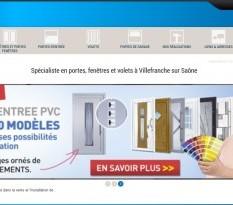 Vente de fenêtre en pvc à Villefranche  sur Sâone