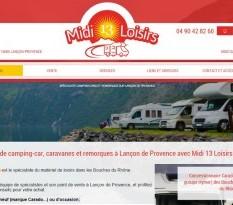 Spécialiste du camping-car sur Lançon de Provence