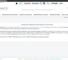 Matériel informatique reconditionné Lyon