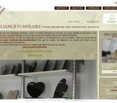 Vente articles funéraires Bruges