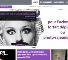 Centre épilation lumière pulsée Laval