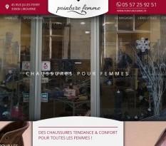 Vente de chaussures de marque femme Libourne