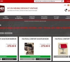 Vente en ligne de mobilier design