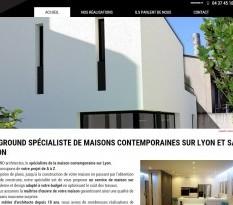 Création de villa contemporaine à Lyon