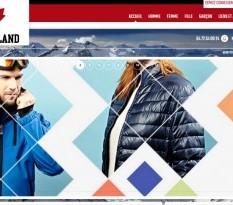 Vente en ligne de vêtements de ski