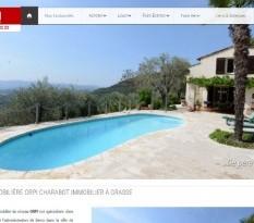 Vente de maisons de charme sur Grasse