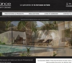Pose de terrasse en bois à Aix en Provence