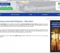 Auto bilan pas cher à Mérignac