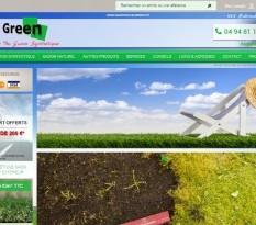 Boutique en ligne de gazon synthétique et naturel