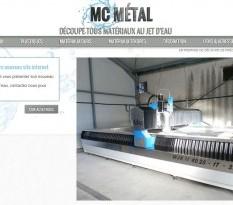 Découpe de métaux au jet d'eau à Montpellier