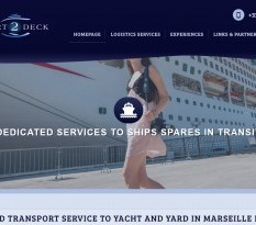transport service for ship spares marseille