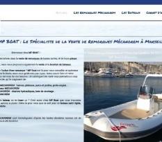 Vente de remorques pour bateau Marseille