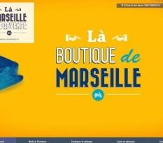 magasin de souvenirs à Marseille