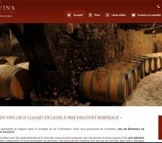 Vente en ligne de Bordeaux millésimés