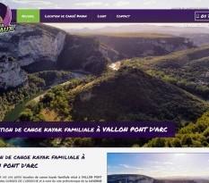 Location de canoë à Vallon-Pont-d'Arc