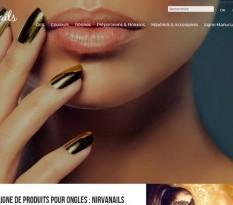 Boutique en ligne de produits pour ongles