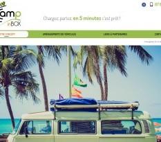 Box de camping pour voiture à Saint Etienne