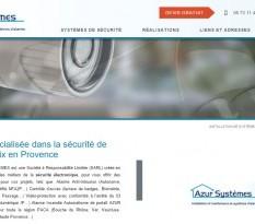 Installation alarme sur Aix en Provence