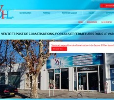 achat de climatisation et portails sur La Seyne sur Mer