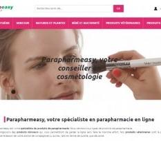 Vente en ligne de produits de parapharmacie