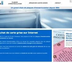 Vente de plaques immatriculation en ligne