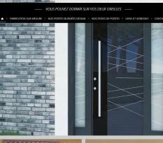Vente de porte blindée design à Aix