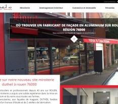 Miroiterie à Rouen