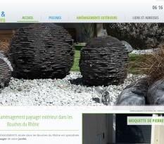 Création de jardin paysager dans le 13