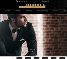 Vêtements de luxe pour homme Marseille