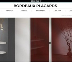 Placards et dressings � Bordeaux