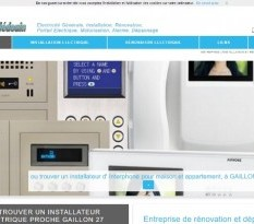 R�novation �lectrique Gaillan