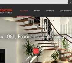 Escalier en bois sur mesure salon de provence