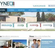 réseau d'agences immobilières