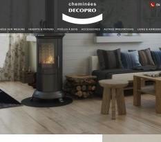 vente de foyers à bois vers Le Rove 13740 - Decopro