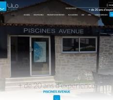 Distributeur de piscine à coque à Aubagne