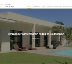 Construction de villas contemporaines toulouse