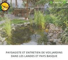 aménagement paysager Landes