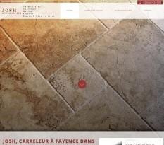 Artisan carreleur Fayence