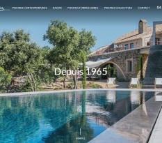 piscines contemporaines Aix en Provence