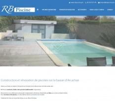 Construction piscine enterrée Biscarrosse