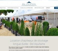 Location de chapiteau pour bâtiment industriel à Bordeaux