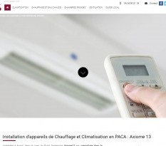 axiome 13 aubagne climatisation chauffage