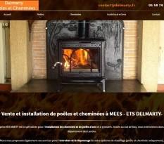 Vente de cheminée design à Dax