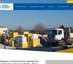Gignac la Nerthe vente de matériaux gros oeuvre et second oeuvre