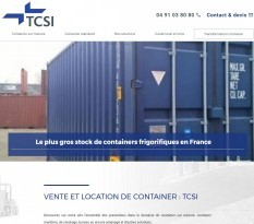 Vente de containers Marseille